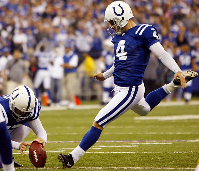 No one is cooler on the Super Bowl stage than Vinatieri and he's been perfect throughout the playoffs. If the game is close at the end, keep an eye on No. 4.