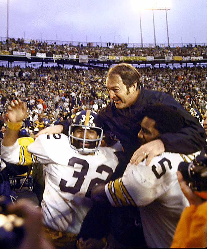 In his 23 years as Steelers coach, Noll led his team from the absolute basement of the NFL to perhaps the greatest dynasty in NFL history. With Noll at the helm, Pittsburgh won four titles in the 1970s and redefined the standard of excellence in the league.