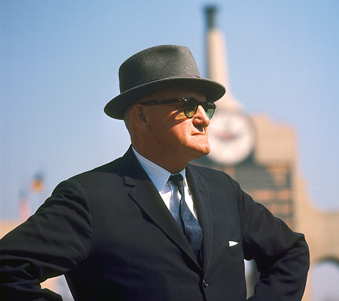 George Halas represented the Bears franchise at the NFL's first organizational meeting in 1920 and was associated with the team until his death in 1983. Papa Bear coached the team for 40 years -- the longest span by a coach with one team in NFL history -- and led them to six NFL titles.