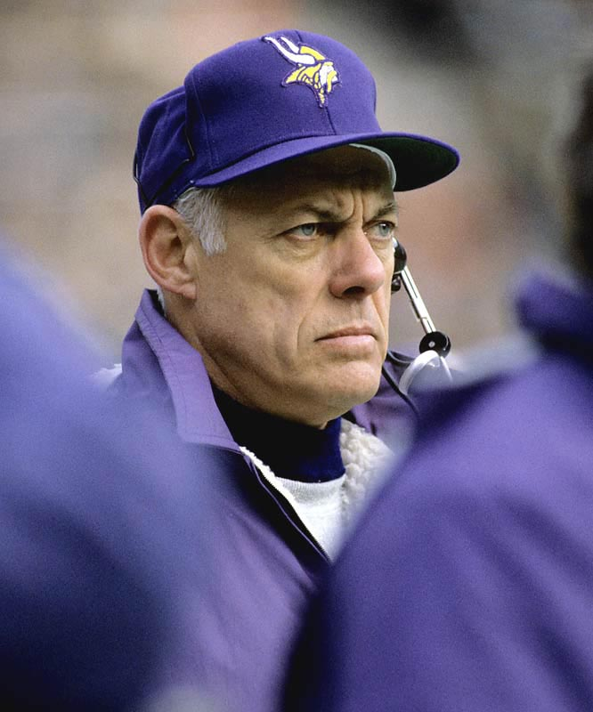 Grant kind of looked like a Viking. He led Minnesota to four Super Bowls -- none of which he won. But for 18 years he was the face of the franchise and one of the winningest coaches in football.