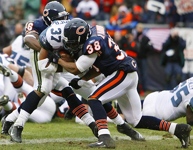 The Bears might not have finished the season ranked second against the pass without the Abilene Christian product. He had two interceptions in 2006, along with five passes defensed, 67 tackles and four forced fumbles. He had five tackles in the divisional round win over Seattle.