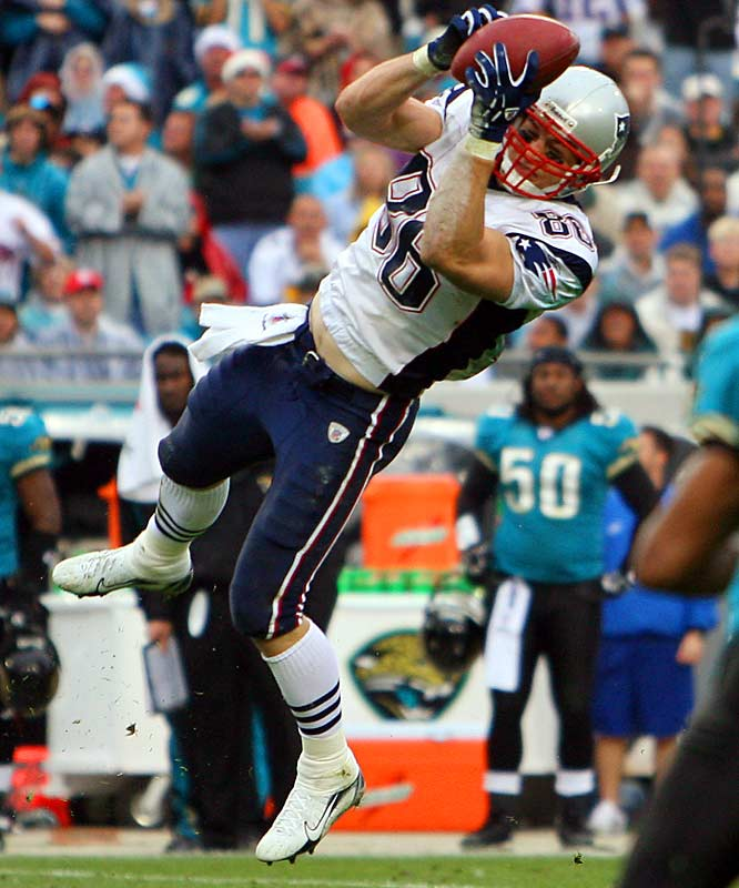 The former Texas Longhorn caught a team-high five passes for a team-leading 83 yards in a Week 16 victory over Jacksonville, but hasn't snagged a ball since. Still, he can't be discounted in a Patriots offense that thrives on its tight ends.