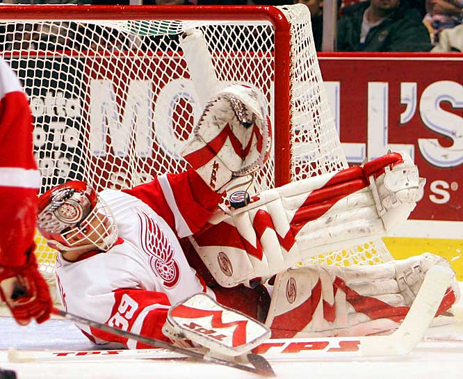 """With six shutouts and the West's best goals-against average, you'd think Hasek would be a no-brainer.  """"I'm disappointed. I thought I was going to be there,"""" he said.  You're not the only one, Dominator."""