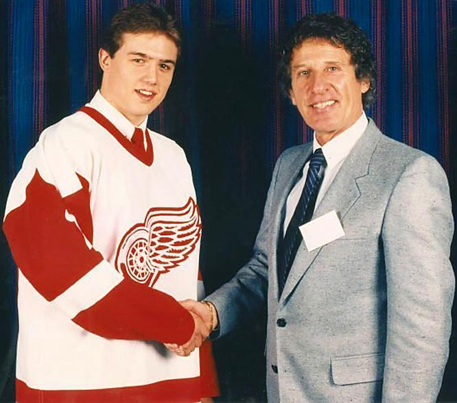 Drafted fourth overall in 1983, Steve Yzerman led owner Mike Ilitch's Red Wings out of the wretched Dead Things era to three Stanley Cups while restoring Detroit's reputation as Hockeytown. At age 18, he made an immediate impact by becoming the youngest All-Star. Yzerman led all NHL rookies in assists (48) and points (87) and was second in goals (39) during the 1983-84 season.