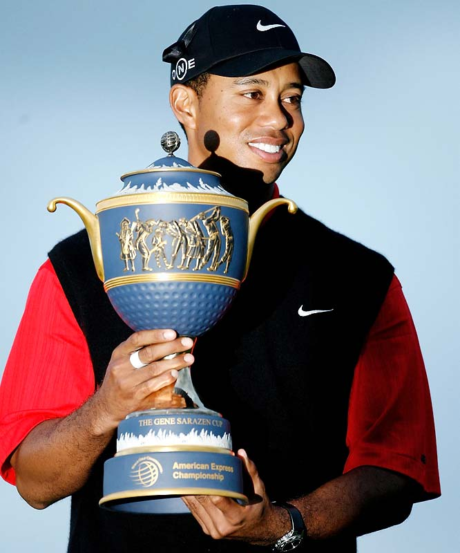 Tiger blew away the field at The Grove in England, winning by eight strokes after setting the tone with an opening-round 63.