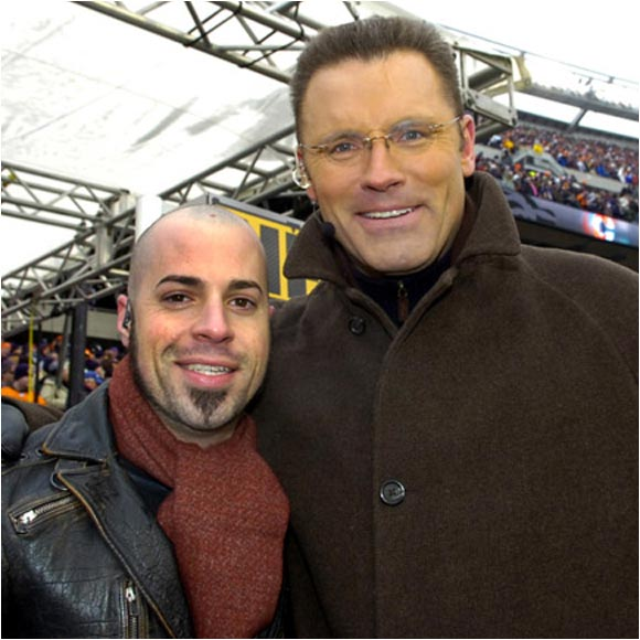 Not winning American Idol hasn't been a problem for Chris Daughtry. He has the No. 1 record in the country right now -- and more important, he got to meet Howie Long before last week's NFC Championship game.