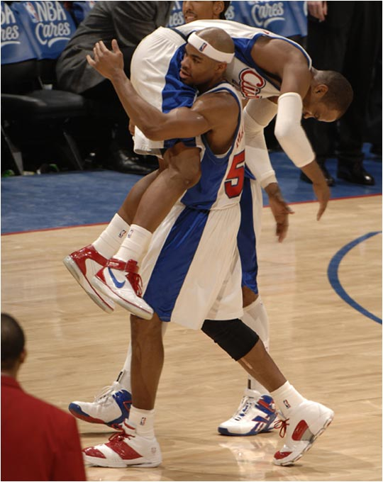 Rumored to be on the trading block, Clippers F Corey Maggette threatens to take teammate Cuttino Mobley with him wherever he goes.