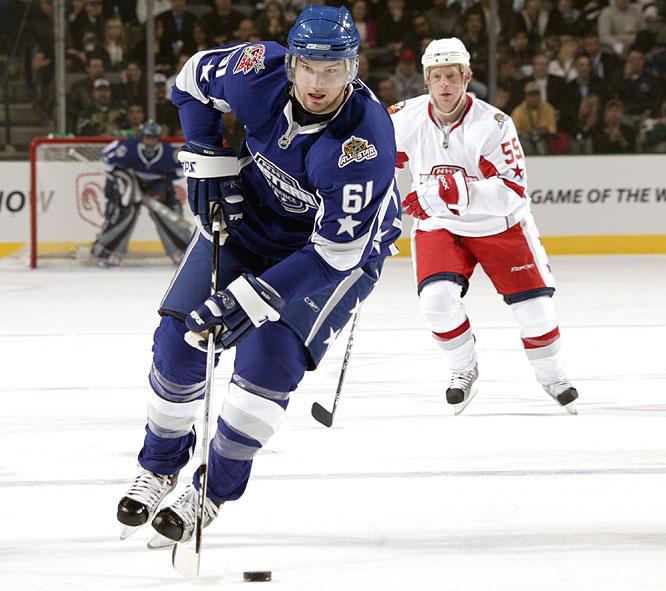 One big reason the West knocked off the East was the play of Rick Nash, who had two goals and two assists.
