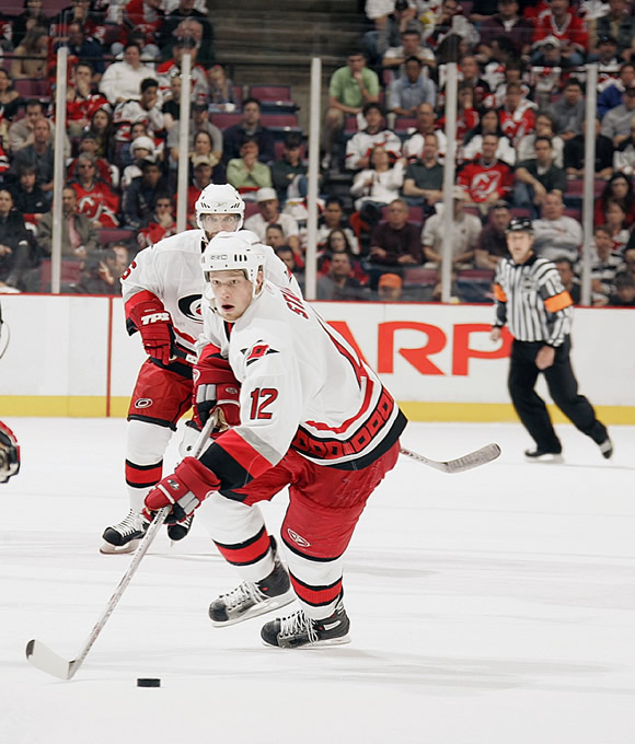 On October 28, 2005, Staal notched the first hat-trick of his career against the Philadelphia Flyers. He has three hat tricks so far in his career.