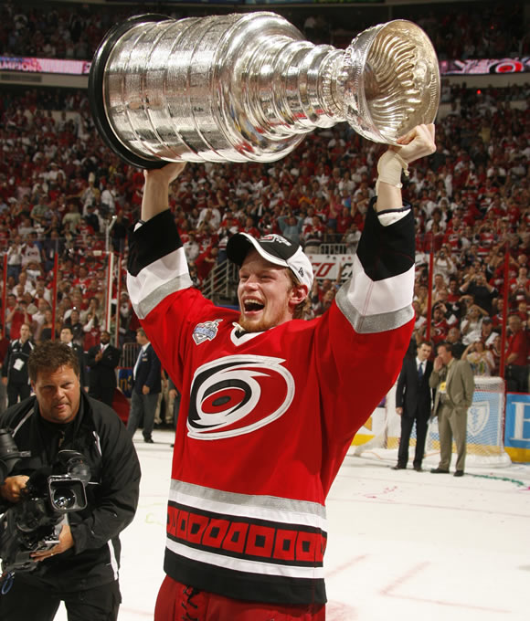 Staal led the Carolina Hurricanes in points during the 2006 Stanley Cup Playoffs with 28.
