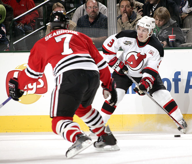 The Devils' Zach Parise scored two goals and added four assists to walk away with MVP honors.