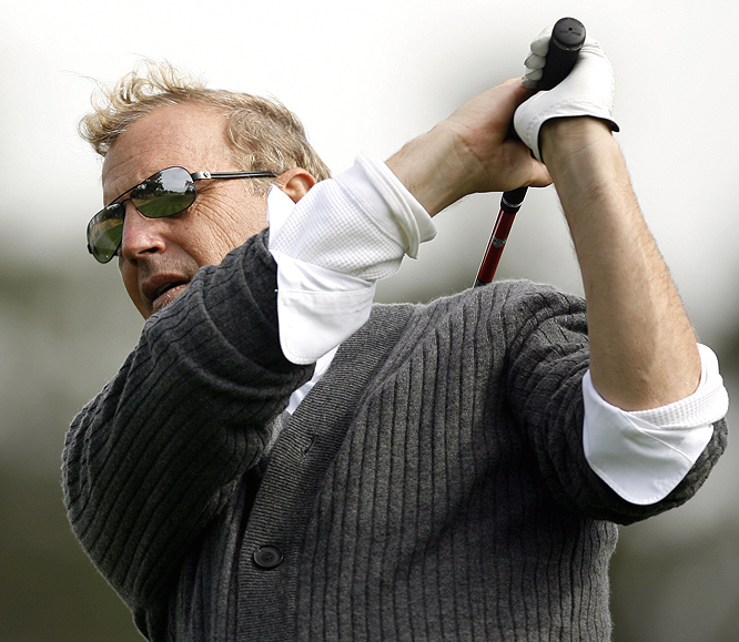 Kevin Costner knows his way around a golf course.