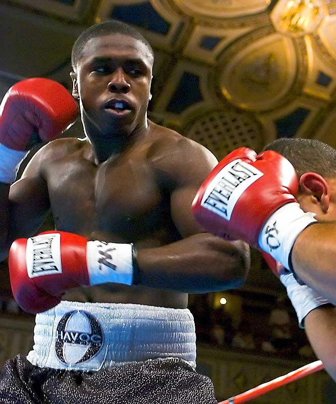 Berto has yet to have a fight go longer than six rounds. He won a bronze medal for the U.S. at the 2003 World Championships, then competed for his native Haiti in the '04 Olympics. Next test comes February 17 against veteran Ben Tackie.