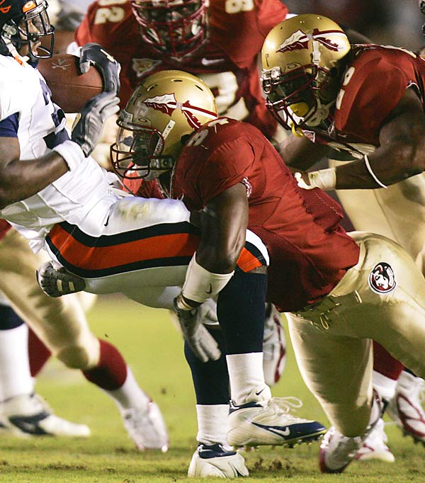 Sims left Florida State following his junior season and was selected by the Detroit Lions in the first round (10th overall) of the NFL Draft. He started in his final 23 games for the Seminoles. As a junior, he earned honorable mention All-Atlantic Coast Conference honors and was a Butkus Award semifinalist.