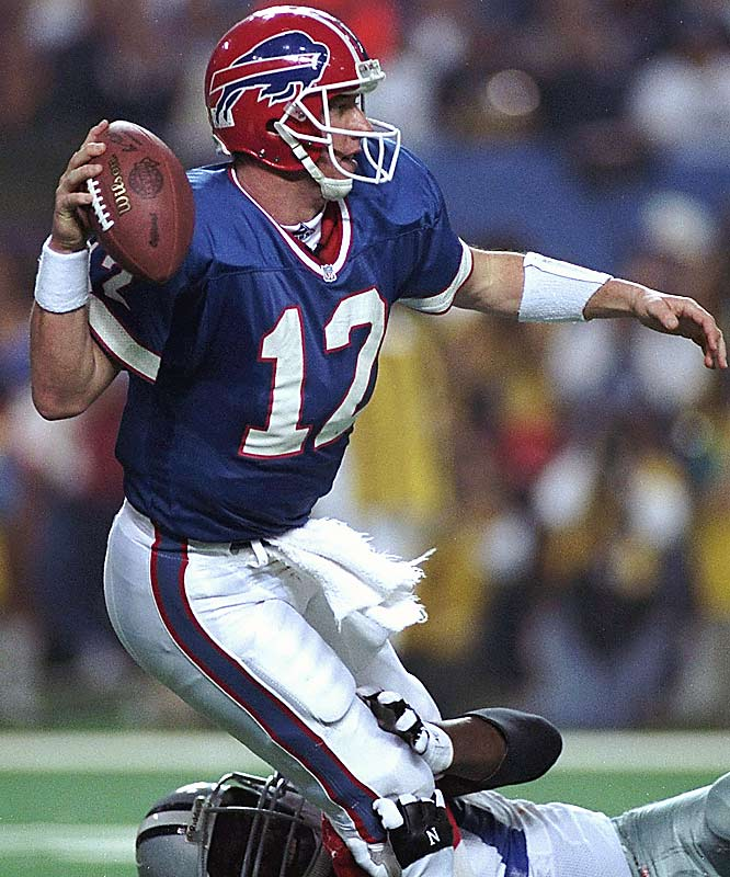 The Bills lost in four consecutive Super Bowls, their first to the New York Giants, a 20-19 loss in Jan. 27, 1991.
