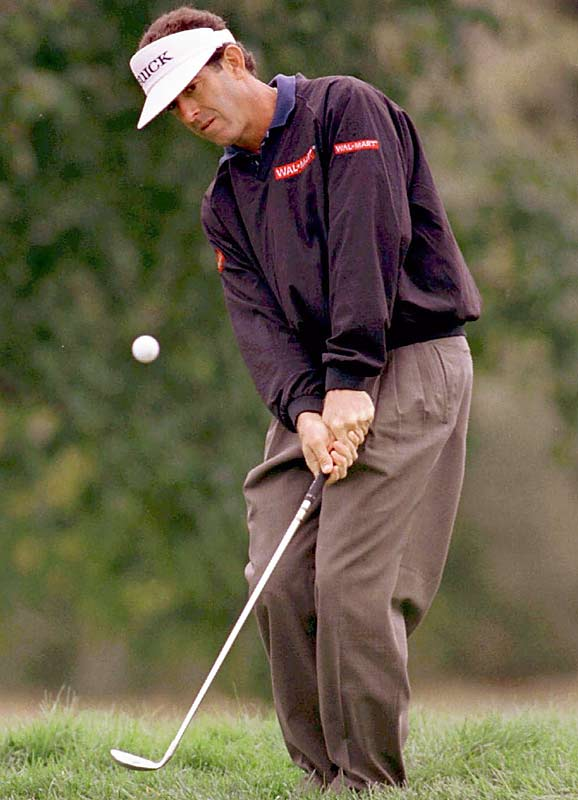 Beck had four victories on the PGA Tour (1988-92) and 20 runner-up finishes, but missed 46 consecutive PGA Tour cuts from 1997-98.
