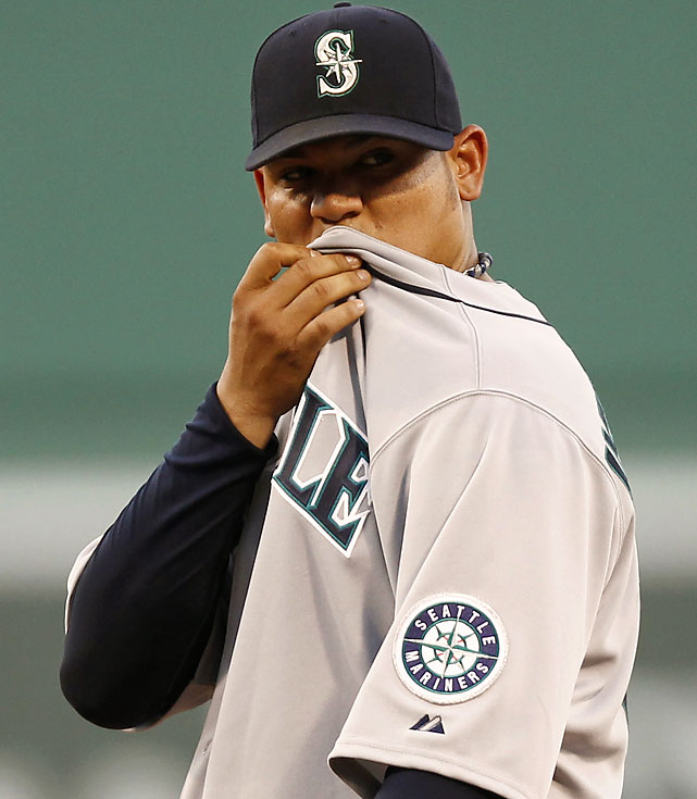 The Mariners lost a franchise-record 17 consecutive games between July 6-26, finally ending the streak with 17 hits and Felix Hernandez on the mound in a 9-2 win at Yankee Stadium.  Here are some other memorable losing streaks.
