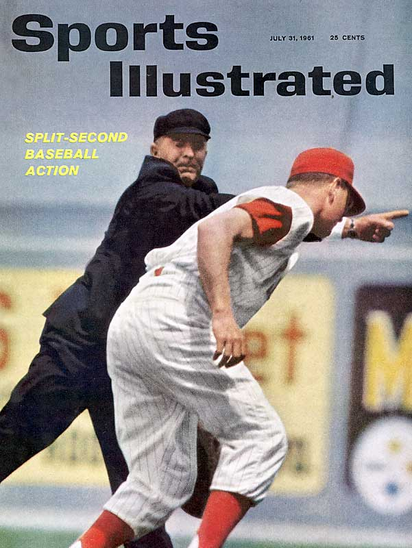 The Phillies set the modern major-league record for consecutive losses with 23 in 1961.