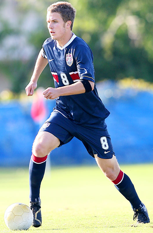 It's tough being the son of the U.S. national-team coach, but Bob Bradley's boy is making a name for himself. Big, strong, and hard-nosed, the 19-year-old holding midfielder joined Heerenveen of the Dutch Eredivisie in January '06 and has become a steady option in the middle of the park.