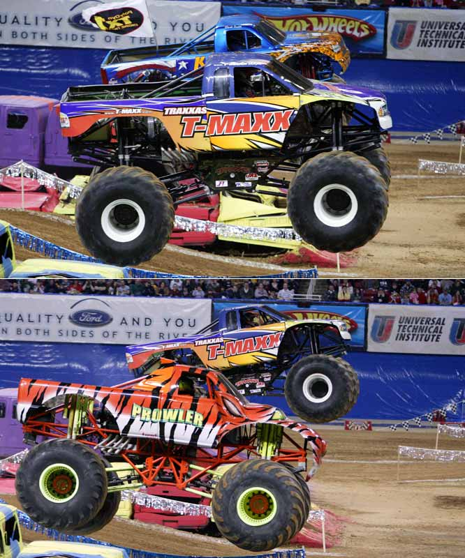 T-Maxx advanced to the finals after defeating King Krunch in the second round and Prowler in the semifinals.