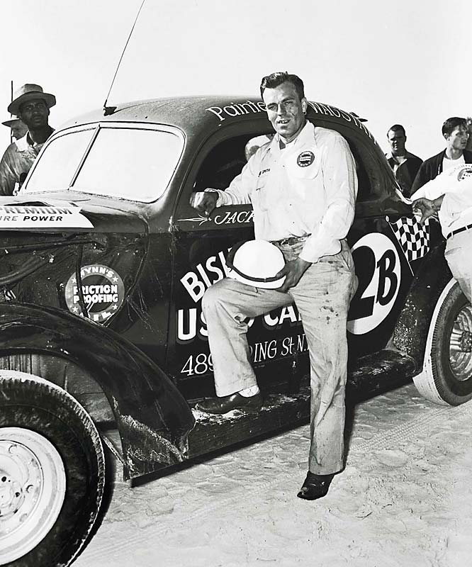 Jack Smith with his Chrysler.
