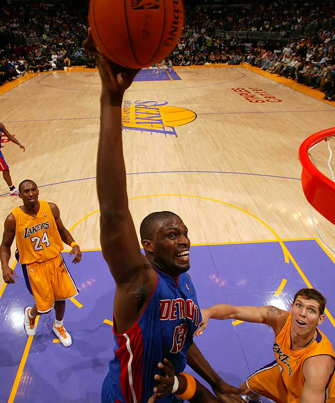 When the Pistons signed the veteran center last summer after Ben Wallace defected to Chicago, they claimed Mohammed wasn't expected to replace Big Ben, that Mohammed was only expected to be Mohammed. Well, Mohammed has been Mohammed, and still found himself benched when Detroit picked up Chris Webber. Looks like $31 million doesn't buy what it used to.