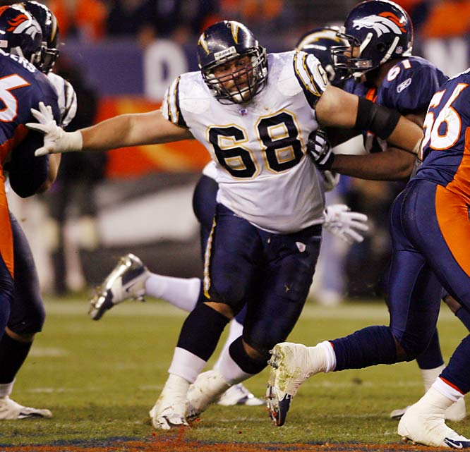 Dielman helped open holes for LaDainian Tomlinson in San Diego and will likely get a huge offer from another team seeking to boost its running game.<br><br>UPDATE: Re-signed with Chargers.