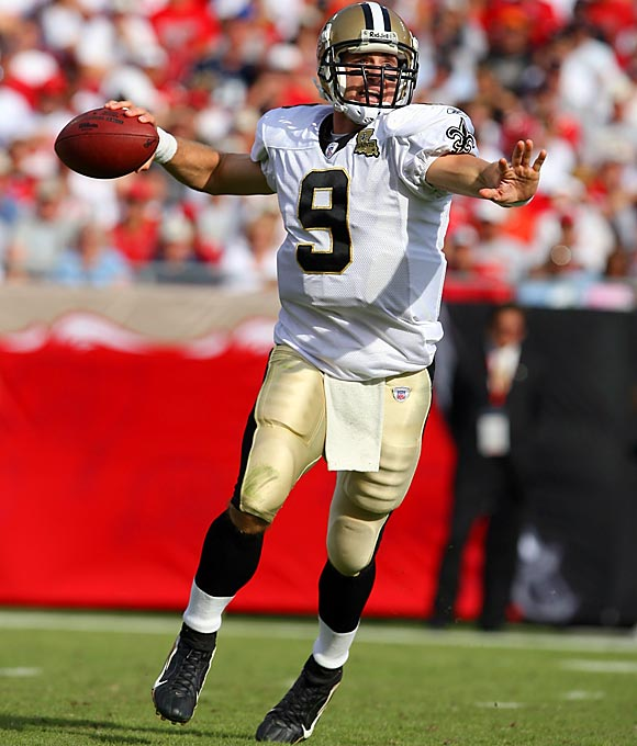 The Saints went after Brees despite a shoulder injury he had suffered at the end of the previous season. Brees threw 26 touchdowns and just 11 picks in 2006 and led New Orleans to the NFC Championship Game.