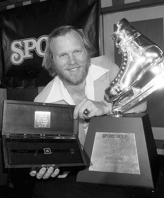 The final piece that launched the Isles' dynasty arrived at midnight before the deadline. Goring brought crucial leadership, experience, durability, face-off skills and additional scoring from the Kings in exchange for Dave Lewis and Billy Harris. The Isles went on to win the first of their four straight Cups. Goring won the Conn Smythe Trophy in 1981.