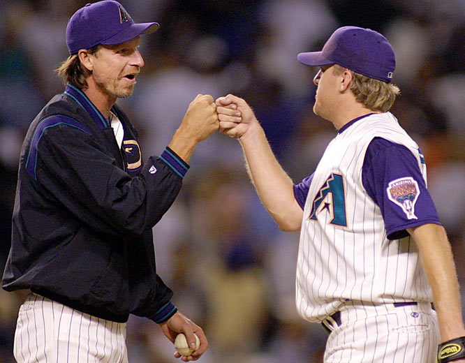 The Big Unit seemed <i>So Lonely</i> in New York, but now he's back in Arizona with an up-and-coming D'backs club that could really use another ace. That's where Curt Schilling, Johnson's co-MVP in the 2001 World Series, comes in.
