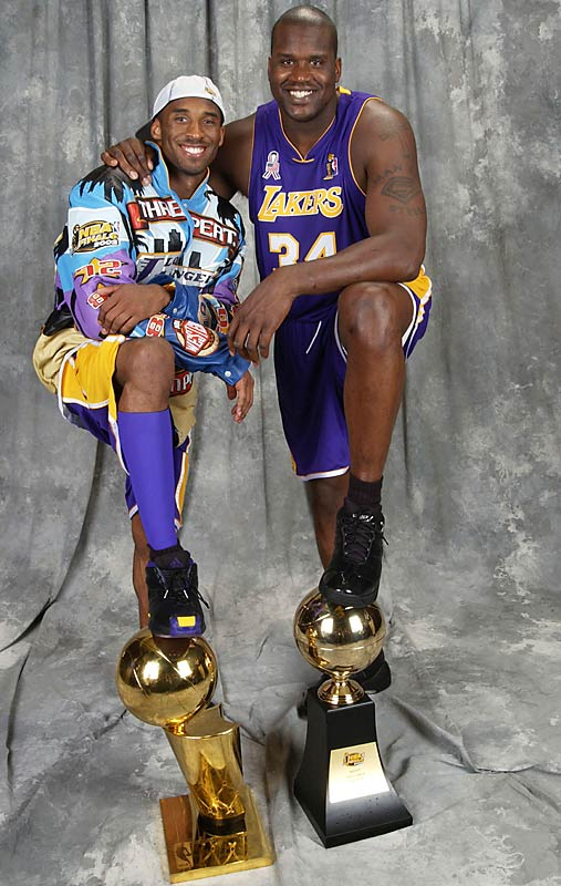 Kobe, you've made your point. Freed from having to share the ball with anybody, you can score a bazillion points a game. Shaq, you've made your point. You can win an NBA title without Kobe. Come back to the Lakers and their fans will be <i>Walking On The Moon</i>.