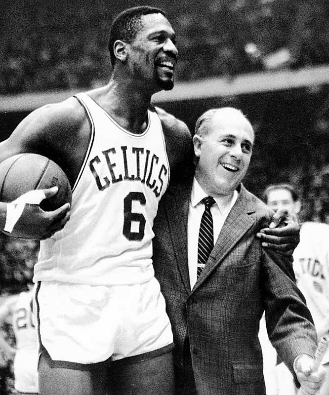 The Boston Celtics' eight consecutive NBA championships, beginning in 1959.