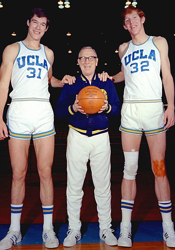UCLA's seven consecutive NCAA basketball titles, from 1966 to 1973.