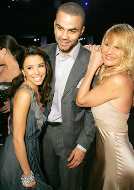 Tony Parker seems to be a hit with the women of Wisteria Lane.