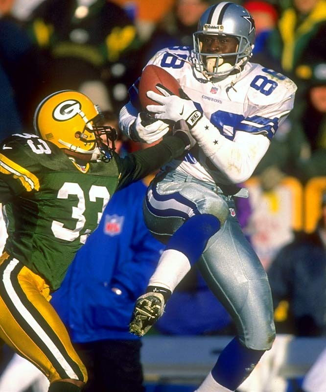 Picked for NFL's all-decade team of the 1990s. ... Selected to five straight Pro Bowls. ... Established an NFL record with 11 100-yard games in 1995 and scored 10 touchdowns. ... Cowboys made four straight appearances in NFC championship game (1992-1995) and won three Super Bowls. ... Finished career with 750 receptions for 11,904 yards and 65 TDs.