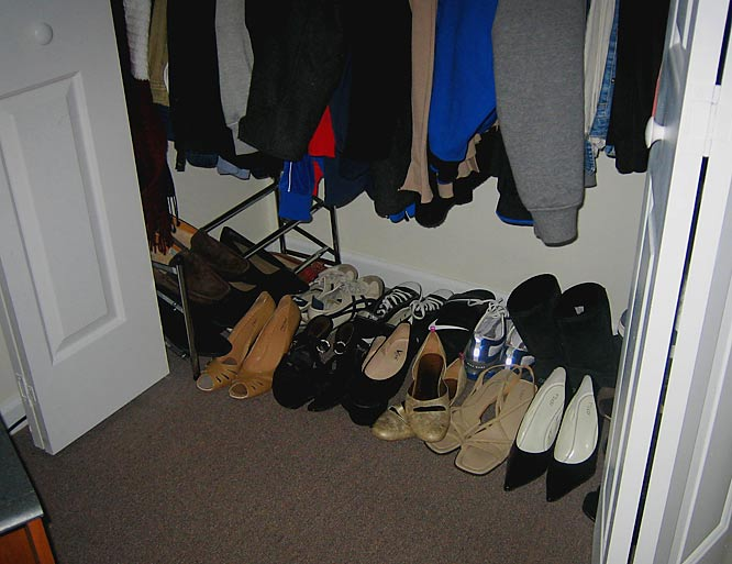 ... and shoes!  (these are just the non-basketball ones!)