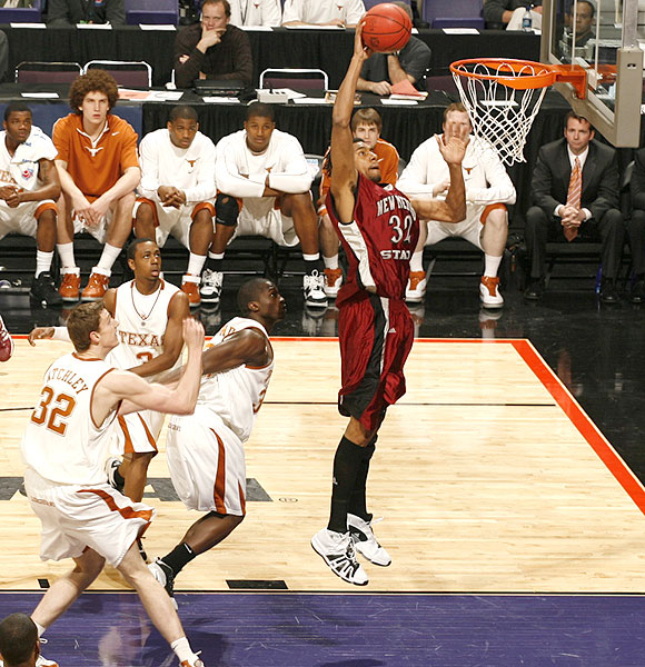Martin Iti and the Aggies were within one point of Texas with 7:10 remaining, but the Longhorns responded with a 12-4 run to take control.