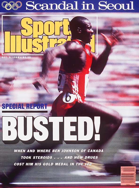"After he denied he had taken the steroids found in his system at the 1988 Seoul Olympics:  ""I said I'm sorry. What else can I say? I lied and I've admitted it -- life goes on."""