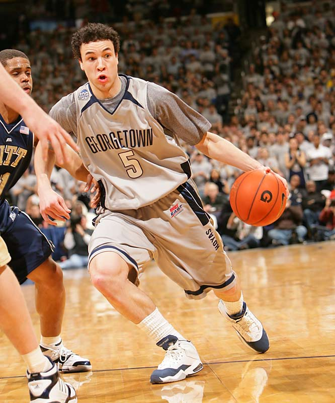 Jeremiah Rivers carries the ball up the court against Pitt.