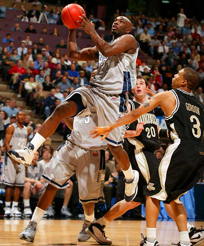 Jessie Sapp and the Hoyas took the attack to Vanderbilt.