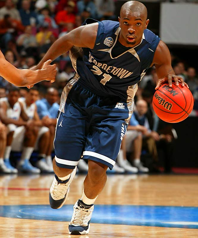 Jessie Sapp and the Hoyas pushed the pace against North Carolina to reach the Final Four.