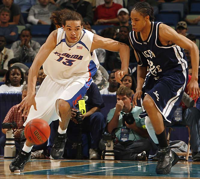 Joakim Noah and his Florida teammates overcame a slow start to blow out Jackson State.