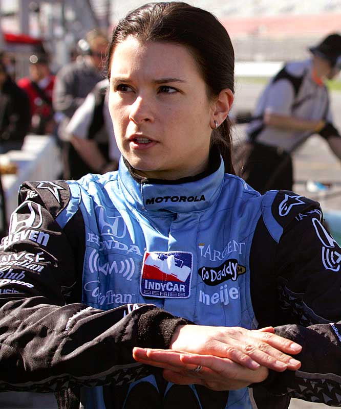 Patrick faces big expectations in her third IndyCar season.