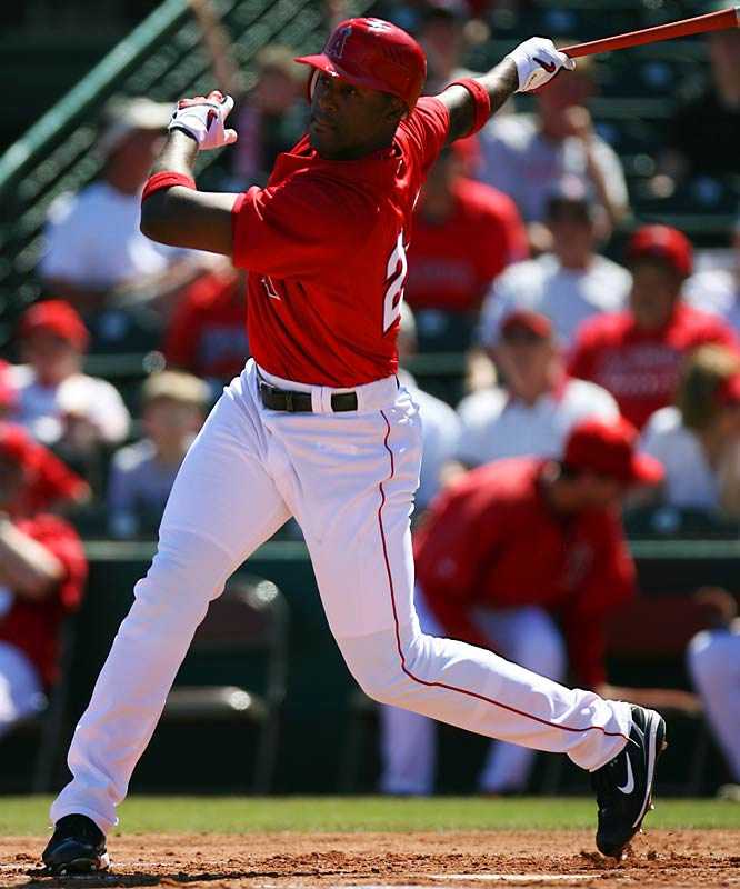It's been a tough spring training for Gary Matthews Jr. The former Rangers outfielder signed a $50 million contract to join the Angels over the offseason only to find himself named in an investigation into illegal prescriptions for performance-enhancing drugs. He has denied every taking any such substances.