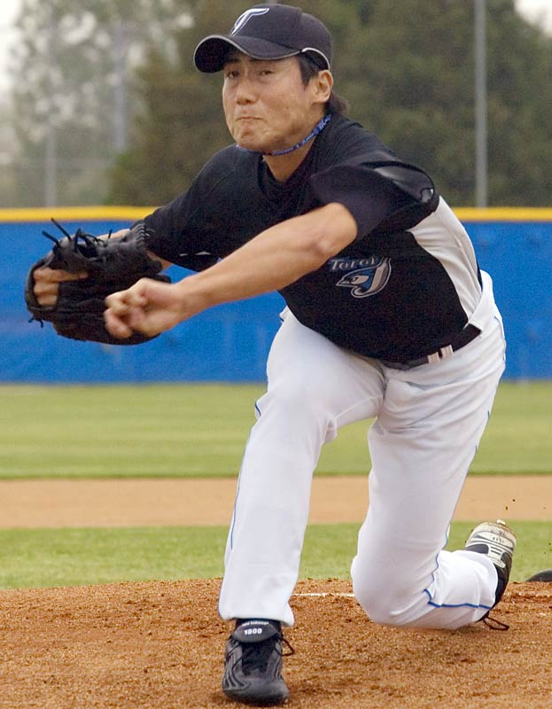 The Jays signed Jo Matumoto, 36, from Brazil's national team. The Sao Paulo native was the MVP of the 2005 South American Games and probably will start the season in the minor leagues.