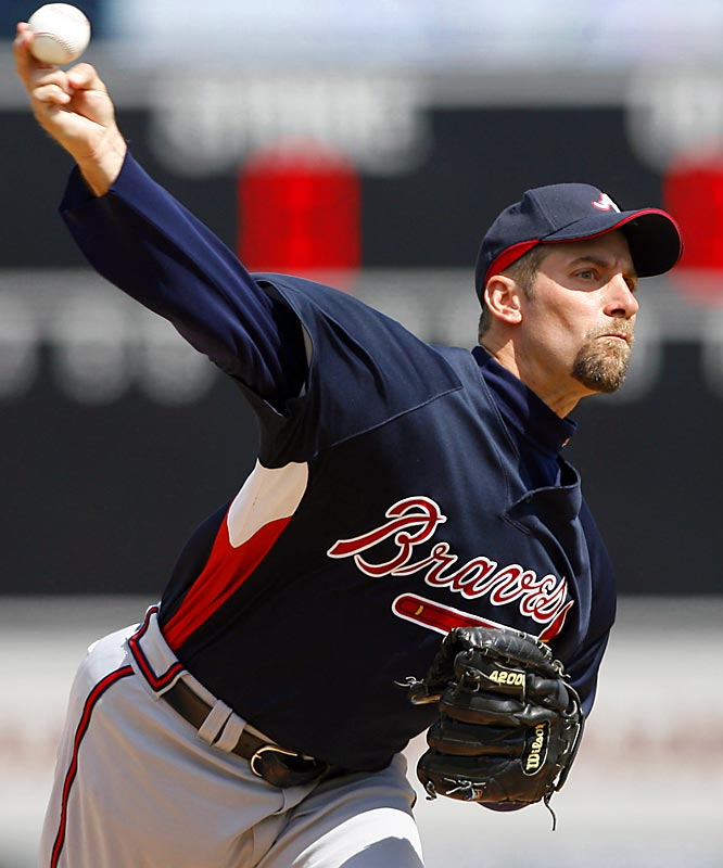 This season will mark No. 19 for John Smoltz, who has surpassed the 200-innings mark each of the past two years since returning to the starting rotation from the bullpen.