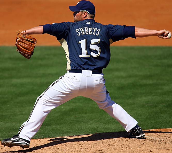 This is a critical spring for ace Ben Sheets, who was limited to 17 starts last season because of two stints on the disabled list.