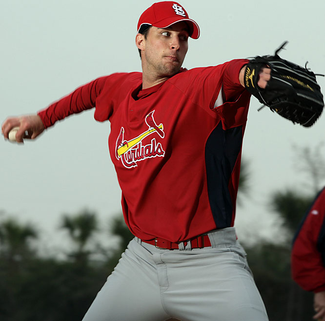 Adam Wainwright will step out of the bullpen and into the starting rotation this season.