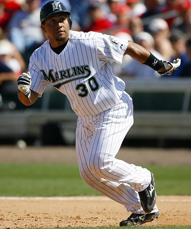 Miguel Olivo had a fine bounceback season with Florida last season, batting .263 with 16 home runs and driving in 58 runs.