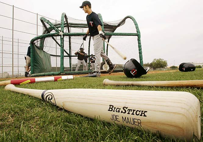 AL batting champion Joe Mauer uses a Big Stick bat.